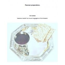 Passover Preparations (PDF Download)