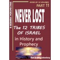 Never Lost: The Twelve Tribes of Israel: Mysteries in History and Prophecy! Book 11